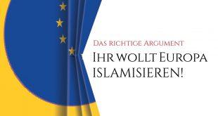 """EBook: 06 Frage: """"Ihr wollt Europa islamisieren!?"""""""